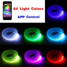 Remote Control Colorful RGB Car Interior Floor Atmosphere Light Strip Decor