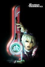 RGC Huge Poster - Xenoblade Chronicles X Shulk Nintendo Wii U 3DS 3D -OTH293
