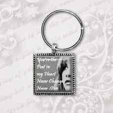 Stevie Nicks Keyring, Song Lyrics, antique silver finish handmade by dandan