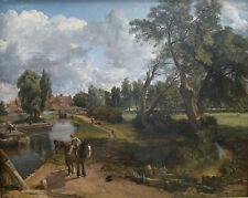 John Constable - Flatford Mill Vintage Fine Art Print