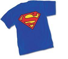 DC SUPERMAN 52 Logo Symbol - BLUE ADULT Licensed T-Shirt - S-XXL