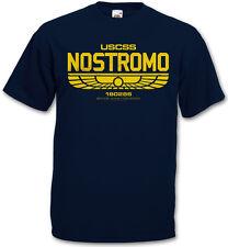 USCSS NOSTROMO IV T-SHIRT - Prometheus Corporation Weyland Alien Yutani Logo