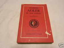 alfred adler et son oeuvre , h orgler , libr stock,1955
