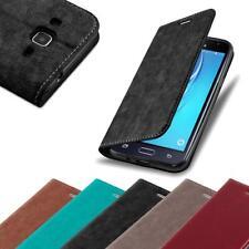 Handy Hülle für Samsung Galaxy J3 / J3 DUOS 2016 Cover Case Tasche Etui mit Kart