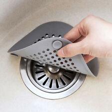 Hair Catchers Silicone Sink Drain Strainer Bathtub Floor Filter Deodorant PlTE