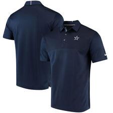 "Dallas Cowboys Nike Sideline Elite Coaches ""Dri-Fit"" Performance Polo - Blue"