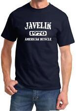 1970 AMC Javelin American Muscle Car Classic Design Tshirt NEW FREE SHIP