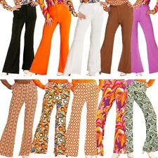 Schlaghose Damen Hose - Kostüm 60er 70er Hippie Schlagermove 36 38 40 42 44 46