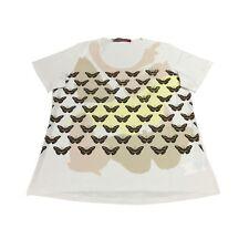 MARINA SPORT by Marina Rinaldi t-shirt avorio mod VALDO 100% cotone