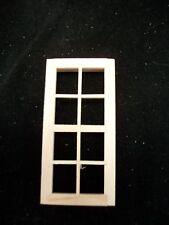 Window 8-Light Half Scale 1:24 Dollhouse wooden #H5023 Houseworks wooden