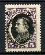 Albania 1927 SG#221 5f Ahmed Zogu's 2nd Year MH  #A30793
