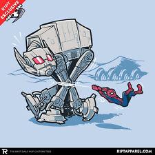 SPIDERMAN Ant Giant Man Star Wars AT-AT Snow Walker Civil War Men T-Shirt M-2XL