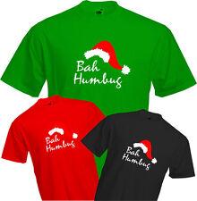 BAH HUMBUG2 - CHRISTMAS T Shirt, Scrooge, Grumpy, Fun, Present Gift, Quality NEW