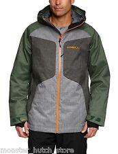 BRAND NEW W/ TAGS O'Neill PMEX GALAXY Snowboard Ski Jacket GREEN MEDIUM-2XLARGE