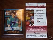 JOSH BECKETT Autographed BOWMAN Card*JSA COA