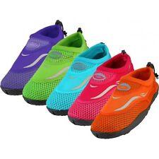 NEW Girls/Children's Water Shoes Aqua Socks for Beach Pool Szs 11,12,13,1,2,3,4
