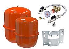 Vasos de expansión calefacción Zilmet 8, 12, 18, 25 Litro y sellado Sistema Kit/soporte