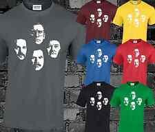 Anchorman Faces Mens T Shirt Top Movie Inspired Funny Ron Burgundy Brick Fantana