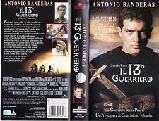 Il 13° tredicesimo guerriero (1998) VHS