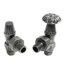 Abbey tradizionale manuale rubinetto valvola Set / COPPIA PER GHISA RADIATORI