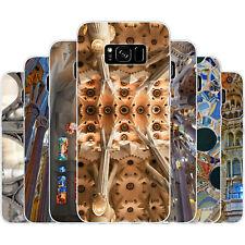 dessana Sagrada Familia TPU Silikon Schutz Hülle Case Handy für Samsung Galaxy