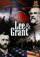 Lee and Grant (DVD, 2011) Ulysses S. Grant & Robert E. Lee  CIVIL WAR