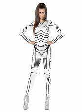 Sexy Roboter Girl Kostüm