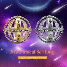 Astronomical Sphere Ball Ring Cosmic Finger Ring Couple Lover Luckyfine Gift