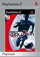 Pro EVOLUTION SOCCER PES PLATINUM ps2 PLAYSTATION 2