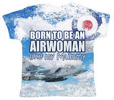 """DF Camiseta para Bebé Estampado INTEGRAL"""" Nacido ser un airwoman Like My Mamá"""""""