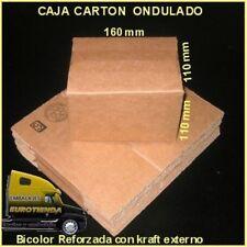 PACK CAJAS DE CARTON MARRON 16X11X11 cm ENVIOS POSTALES CARTON REFORZADO ENVIOS