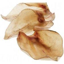 HOLLINGS COW EARS - 5 / 10 / 20 / 50 - Beef Dog Pet Treat Food Buffalo - Pig Alt