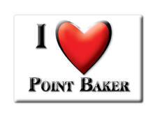 SOUVENIR USA - ALASKA MAGNET POINT BAKER (PRINCE WALES KETCHIKAN COUNTY)