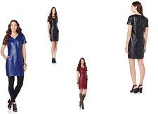 $129.00NENE by NeNe Leakes Fab Faux Leather Pullover Tunic/Dress 367667J SALE$70