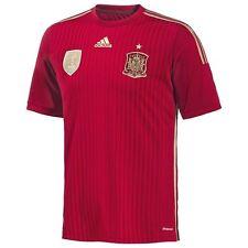 Authentic Adidas Unisex Junior Kids Spain Home Shirt 2014/15, Size: 7-16 Years