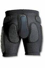 Pantaloncini protezioni coccige fianchi. moto snowboard