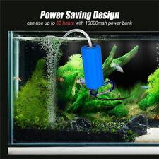 New listing Usb Aquarium Fish Tank Mini Oxygen Air Pump Mute Energy Supply Save Portable New