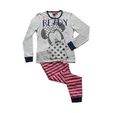 Pigiama bambina Minnie Disney in jersey di cotone WD22938 S325