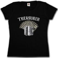 Treasurer Patch malvagia shirt LIVE MC to ride biker SAMCRO Rocker Club soa 1%