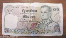 2 banconote 20 baht tailandia thailandia moneta tailandese tailandesi thai money