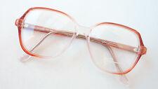 Kassenbrille Vintagegestell Brille Brillenfassung Frauen rotbraun klar size M