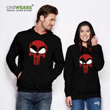 DEADPOOL Skull Face hero comic cinema MARVEL hoodie man woman hooded sweatshirt