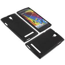 Tasche für Mobistel Cynus T8 Smartphone Handy Case Schutzhülle TPU Gummi Bumper