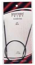 Knitters Pride KARBONZ 32 inch Fixed Circular Knitting Needles MPN 110221