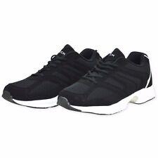 Eclipse Mens Gents Laces Shoes Trainers Jogging Footwear Boots Size 7-12 BLACK