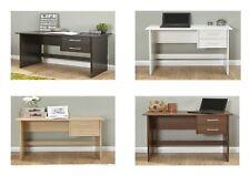 Panama 2 Drawer Home Office/Bedroom Desk - Espresso, Oak, Walnut, White
