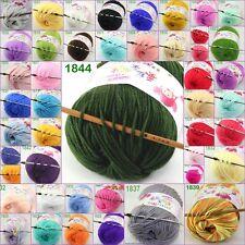Sale new 1ball x 50g Baby Cashmere Silk Wool Children hand knitting Crochet Yarn