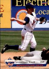 2009 Binghamton Mets Choice #14 Jonathan Malo Quebec Canada Baseball Card