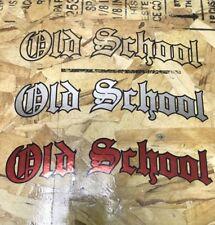 "Old School Vintage Vinyl 8.5"" Decal Retro Classic Car Window Sticker Jdm"