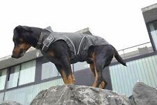 Warm Winter Jacket for Dogs w/ Fleece Lining, Black, XS - 4XL